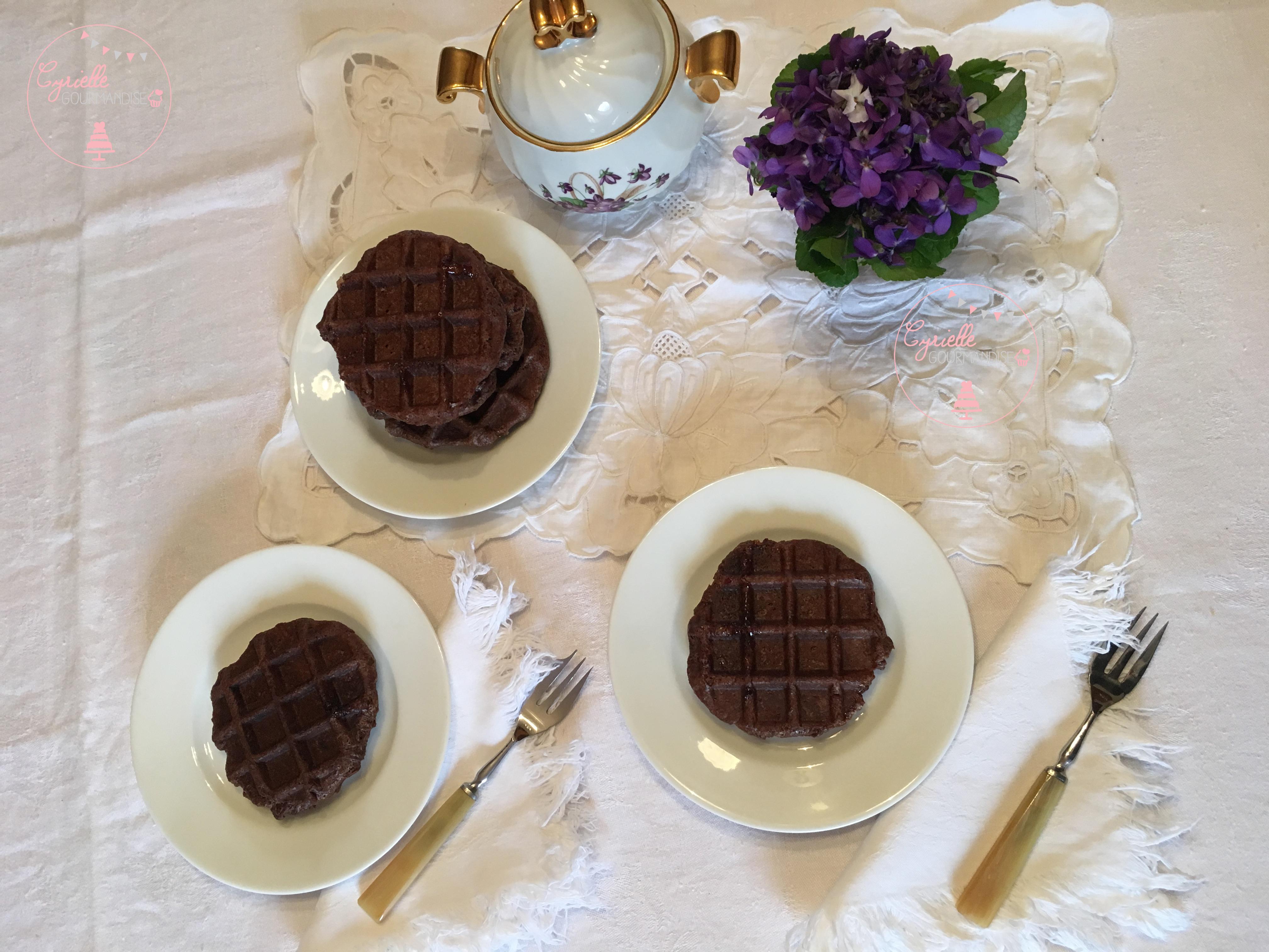 Gaufres Liégeoises Cacao 1