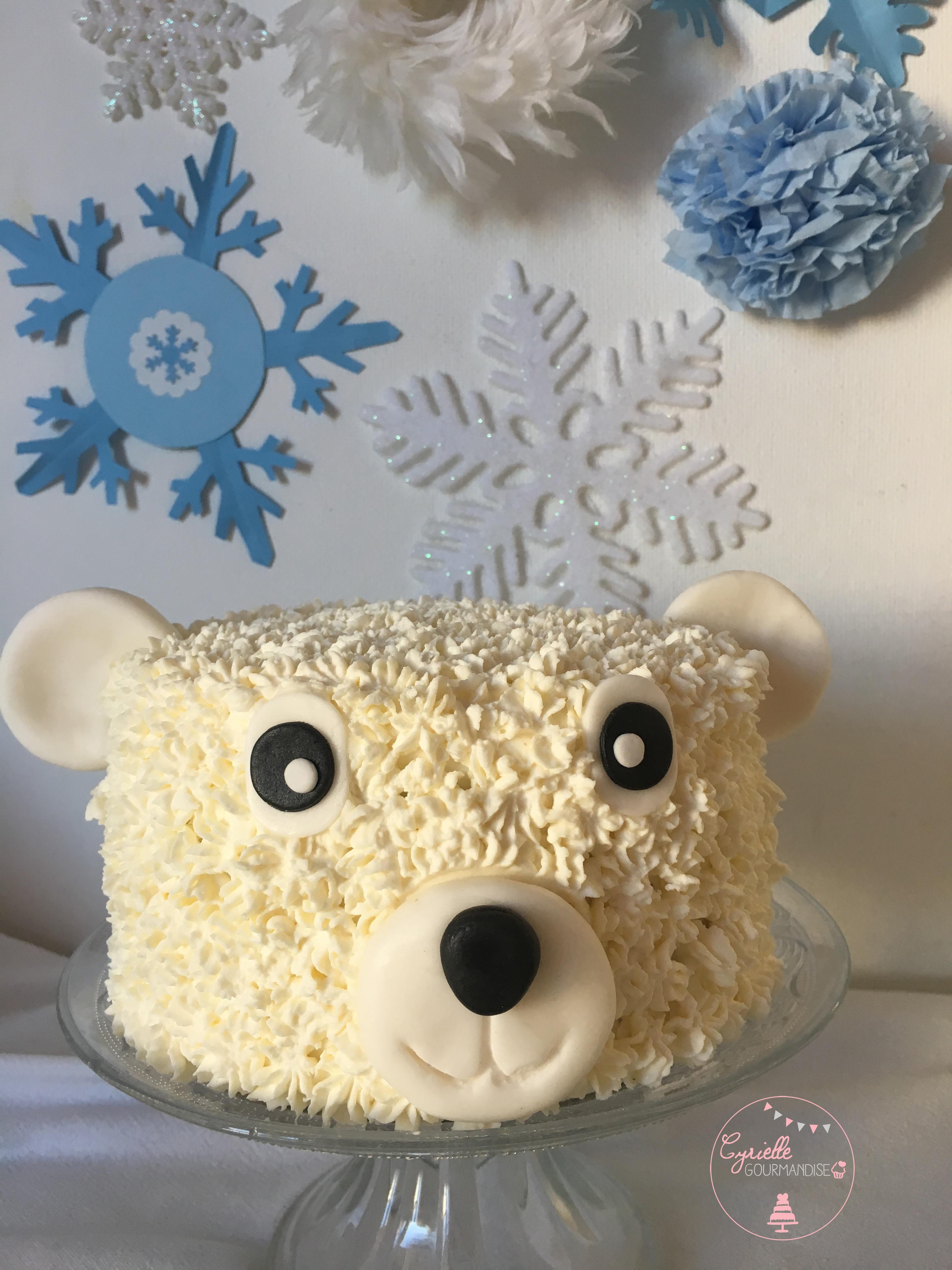 Polar Bear Cake 4