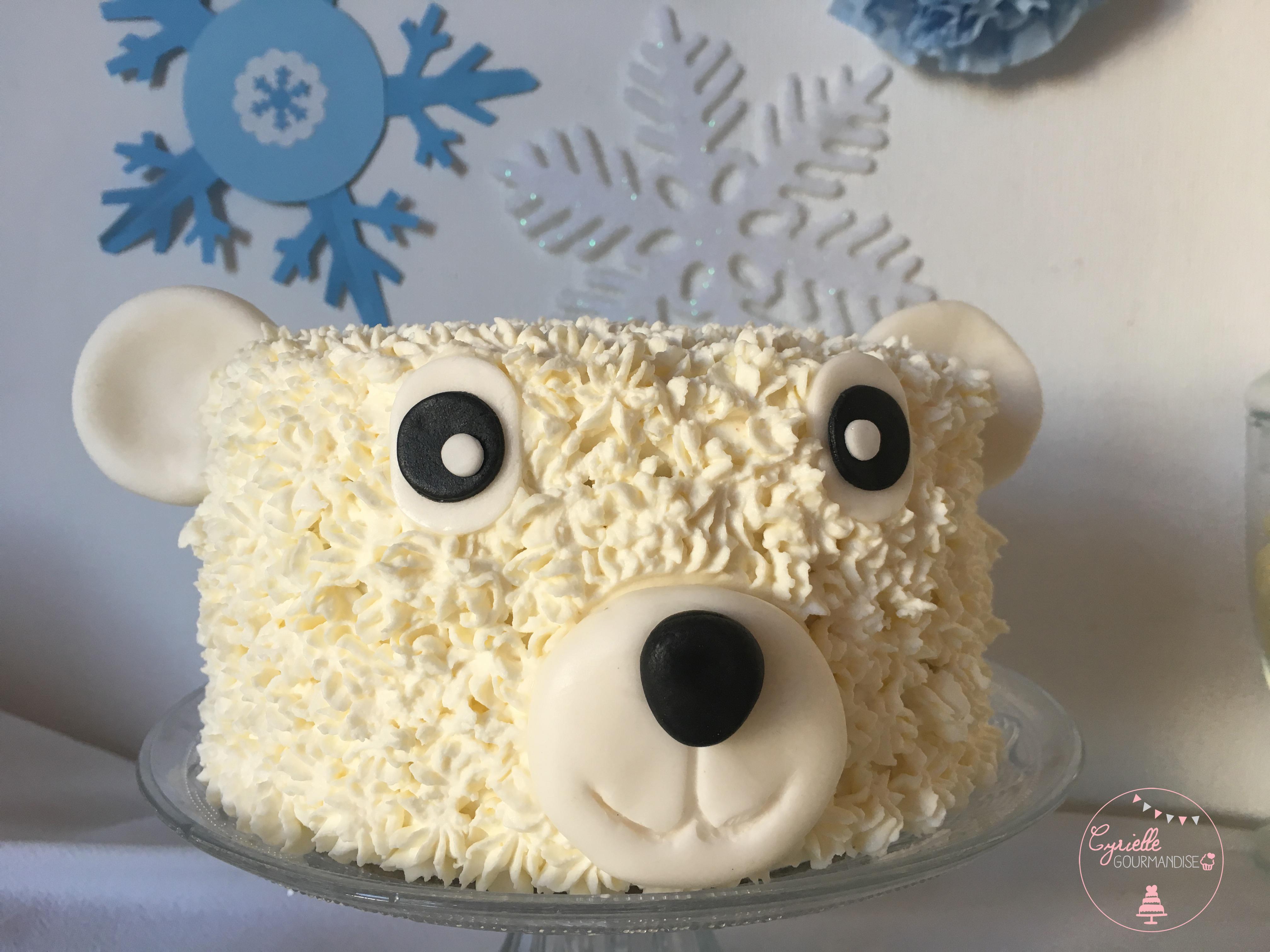Polar Bear Cake 5