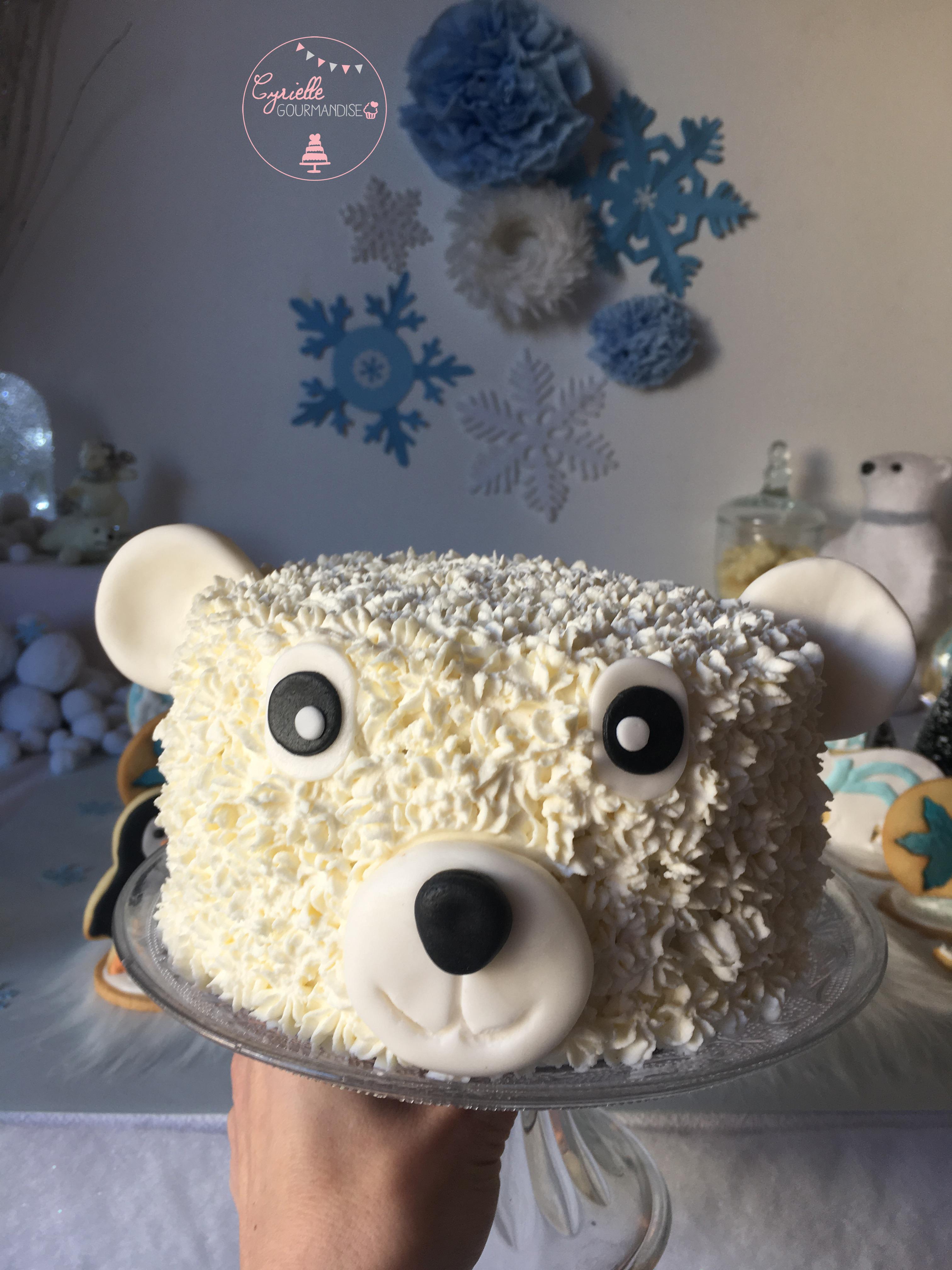 Polar Bear Cake 6