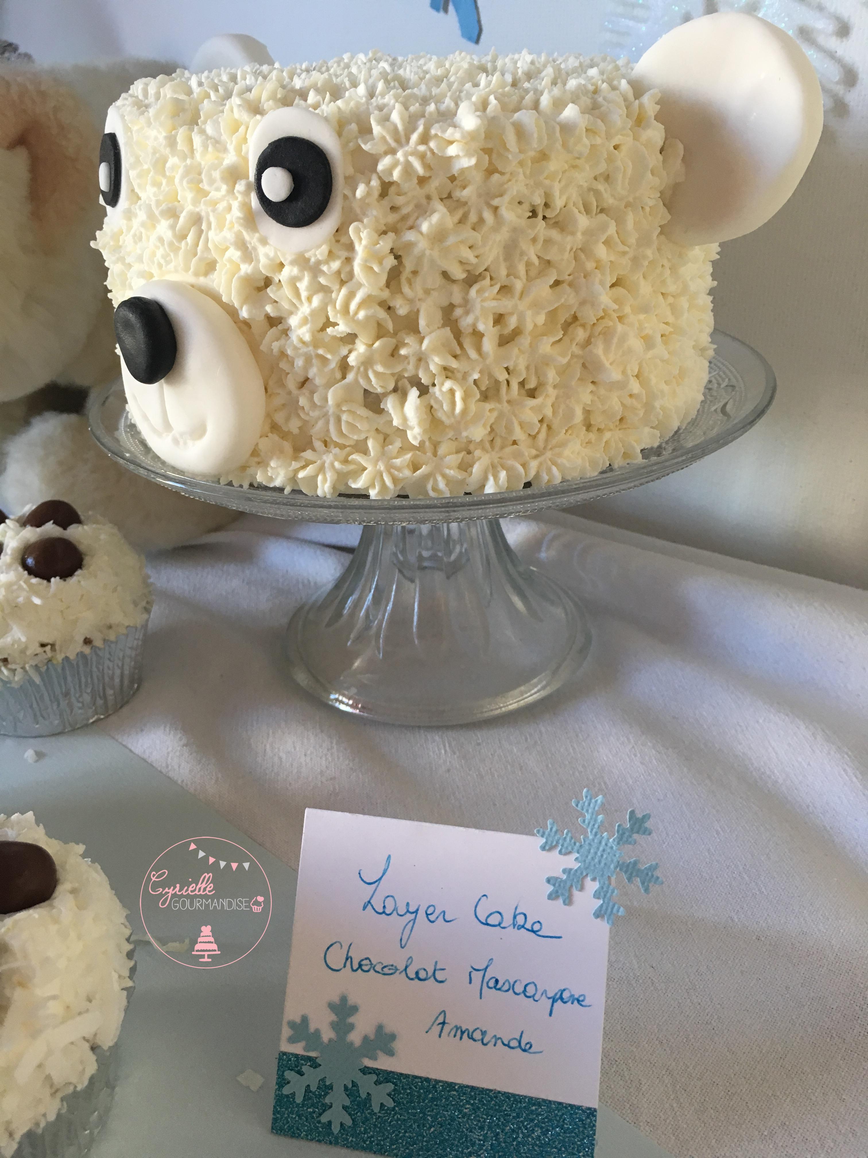 Polar Bear Cake 7