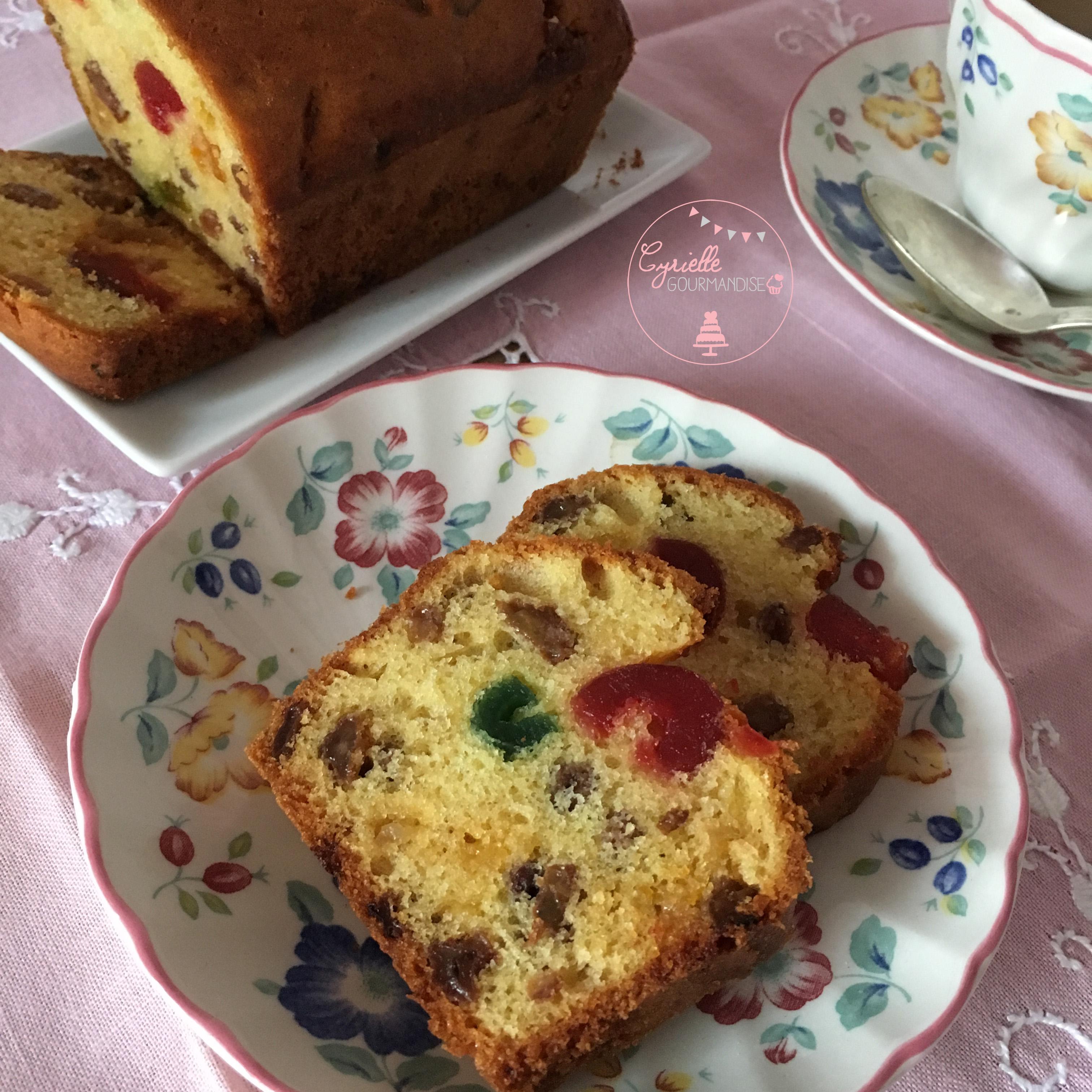 Cake fruits confits 2