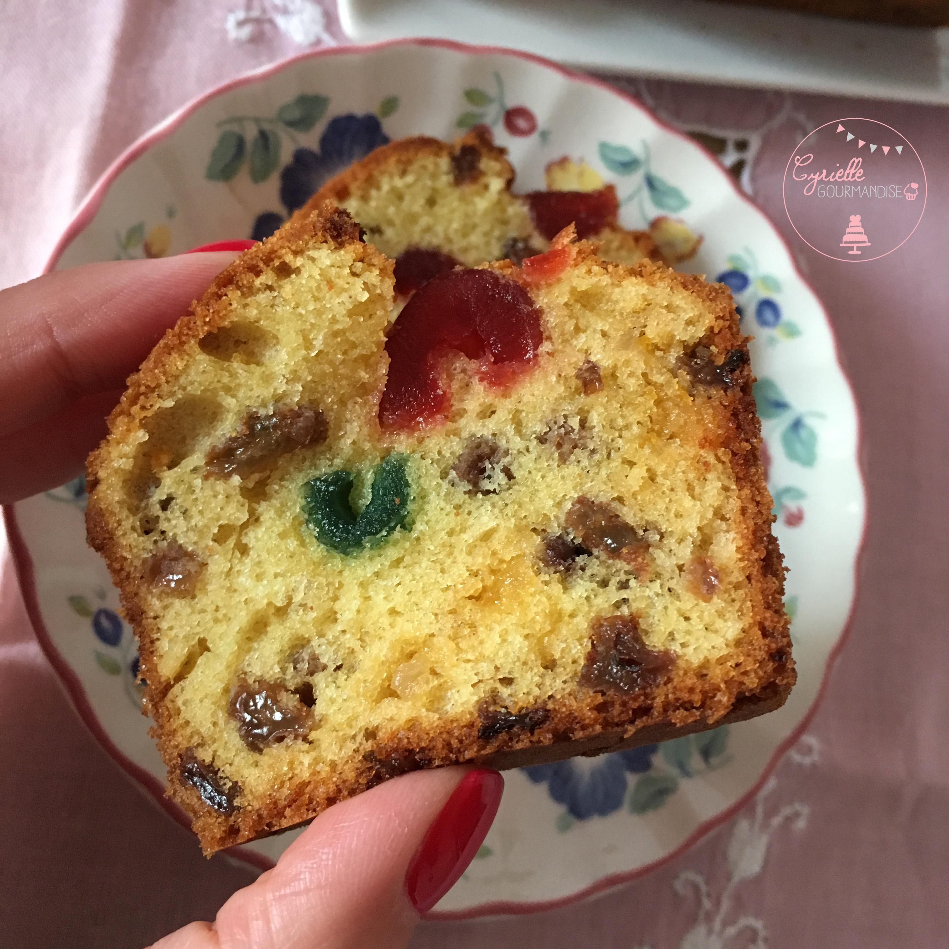 Cake fruits confits 3