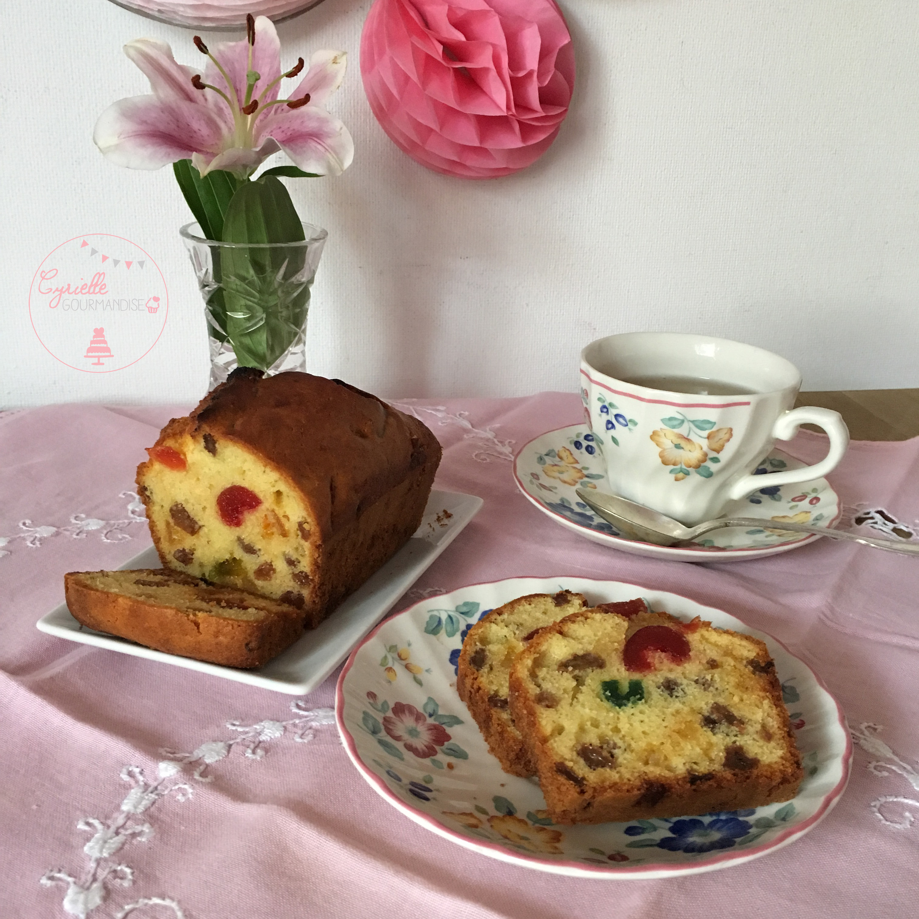 Cake fruits confits 6