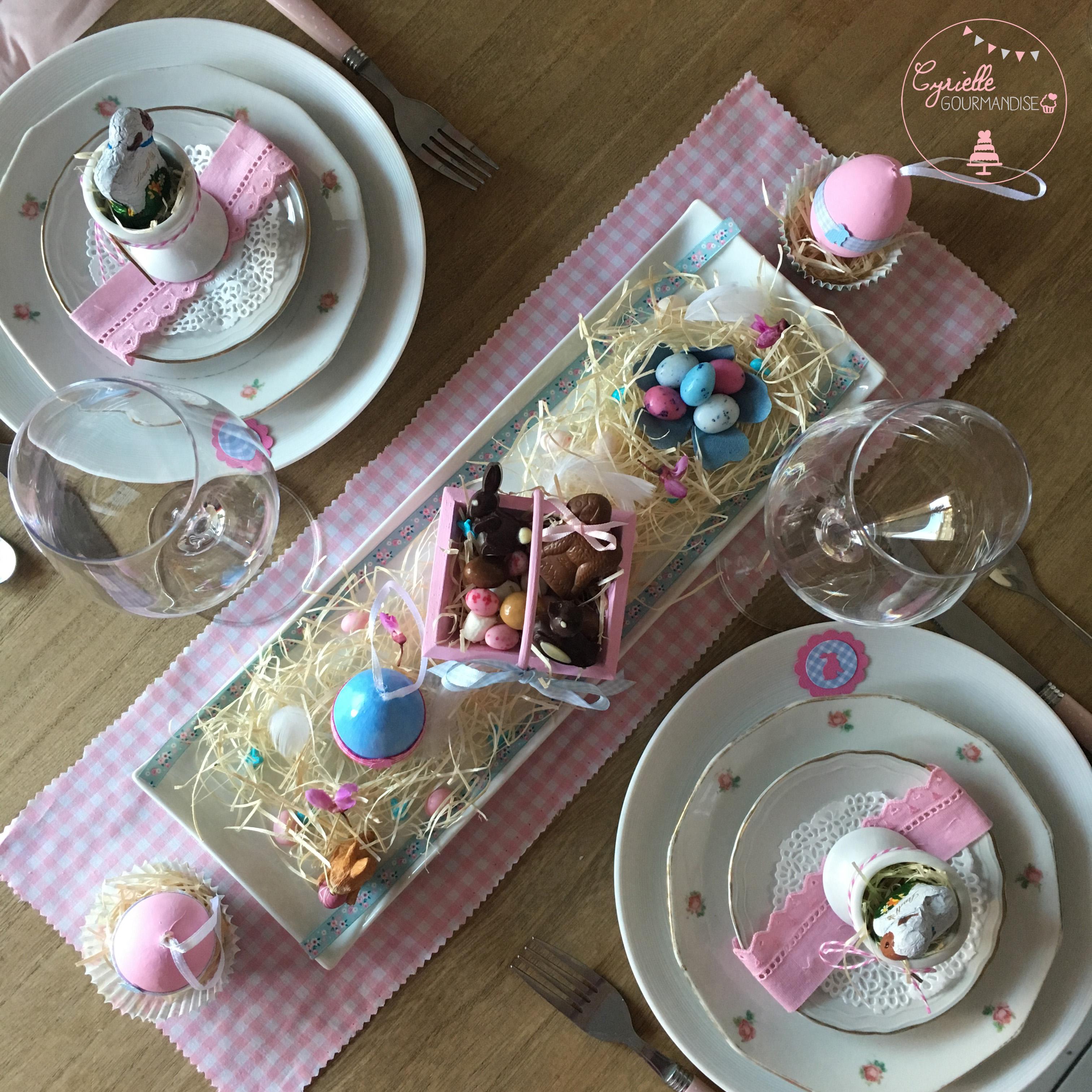 Table Pâques 5