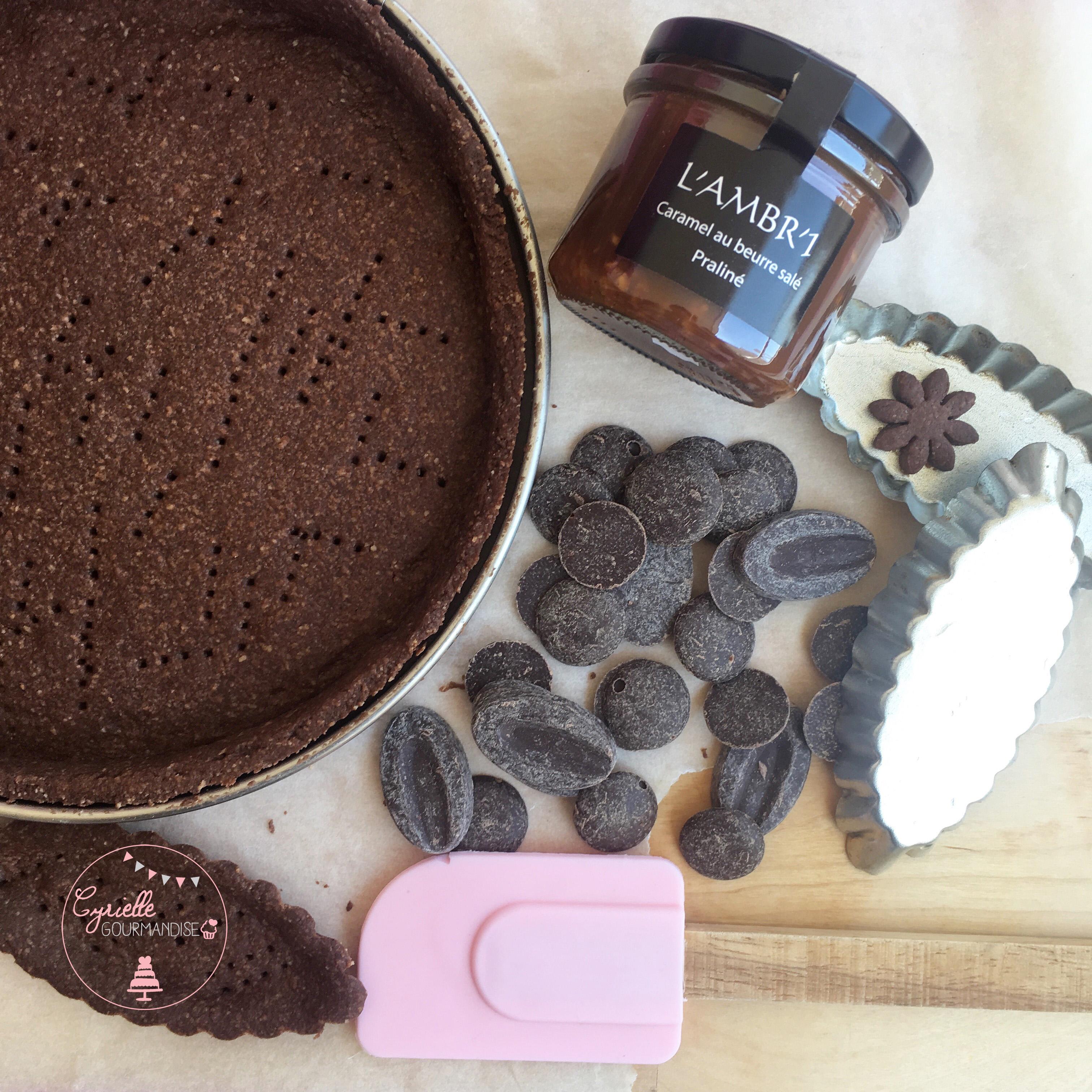 Tarte chocolat prépa