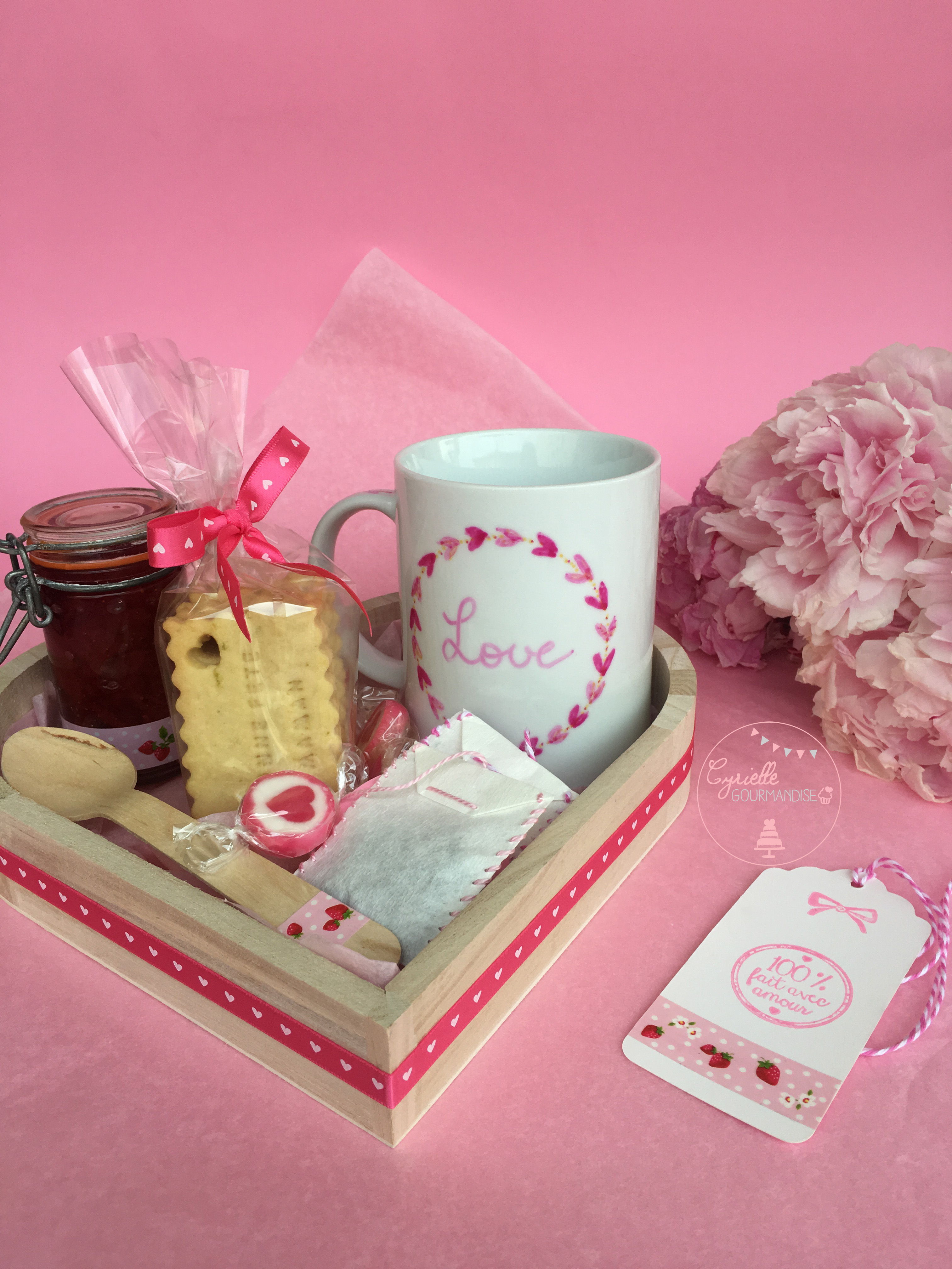 Coffret Tea Time Gourmand Maman