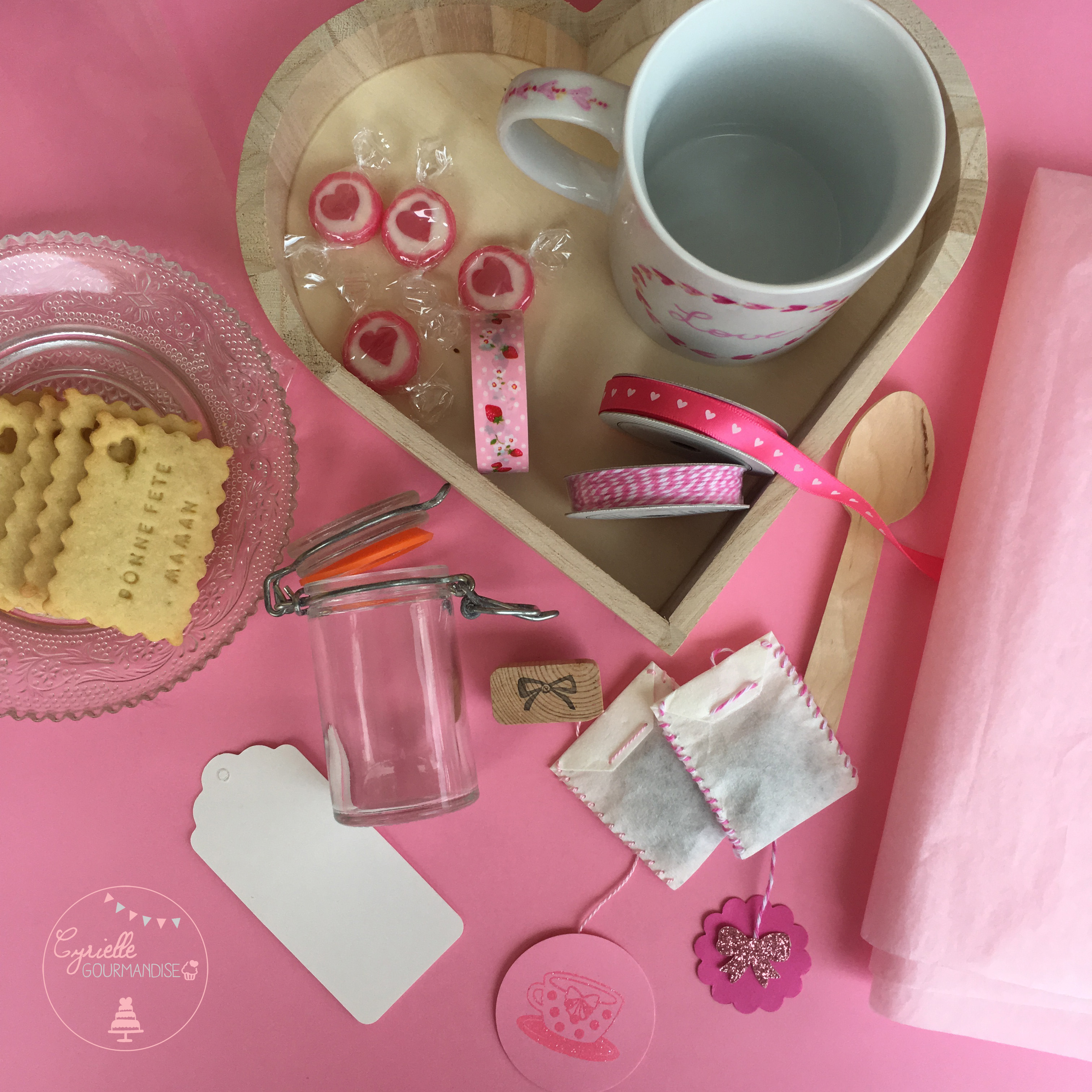 Coffret Tea Time Gourmand - Matériel