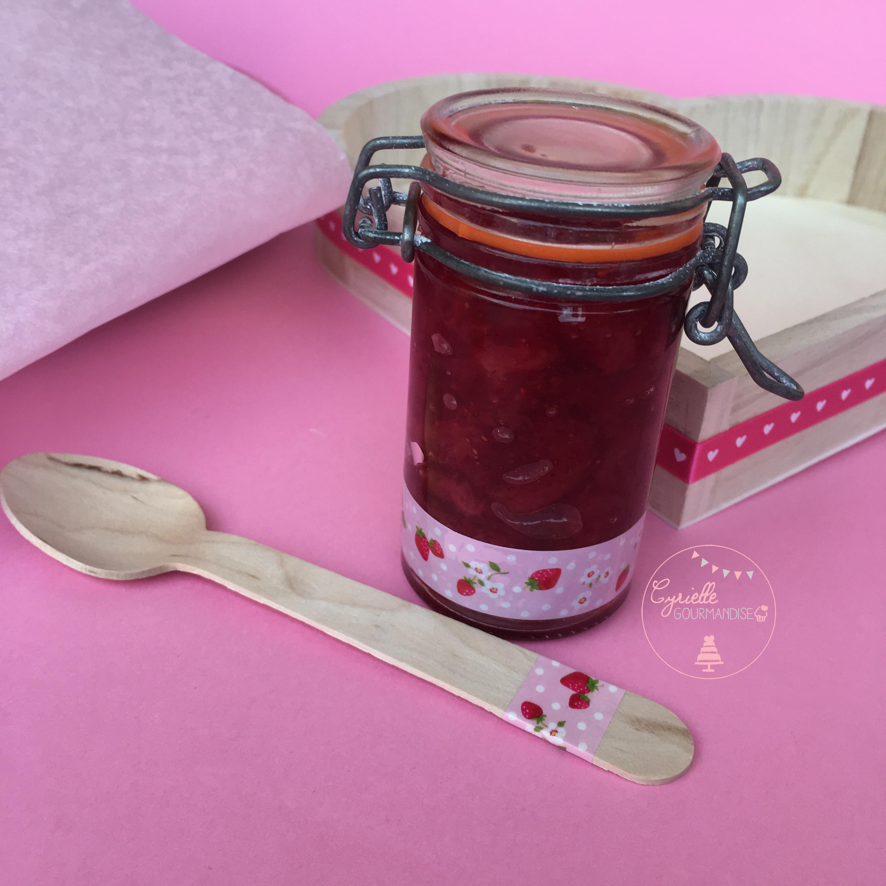 Coffret Tea Time Gourmand - confit de fraises