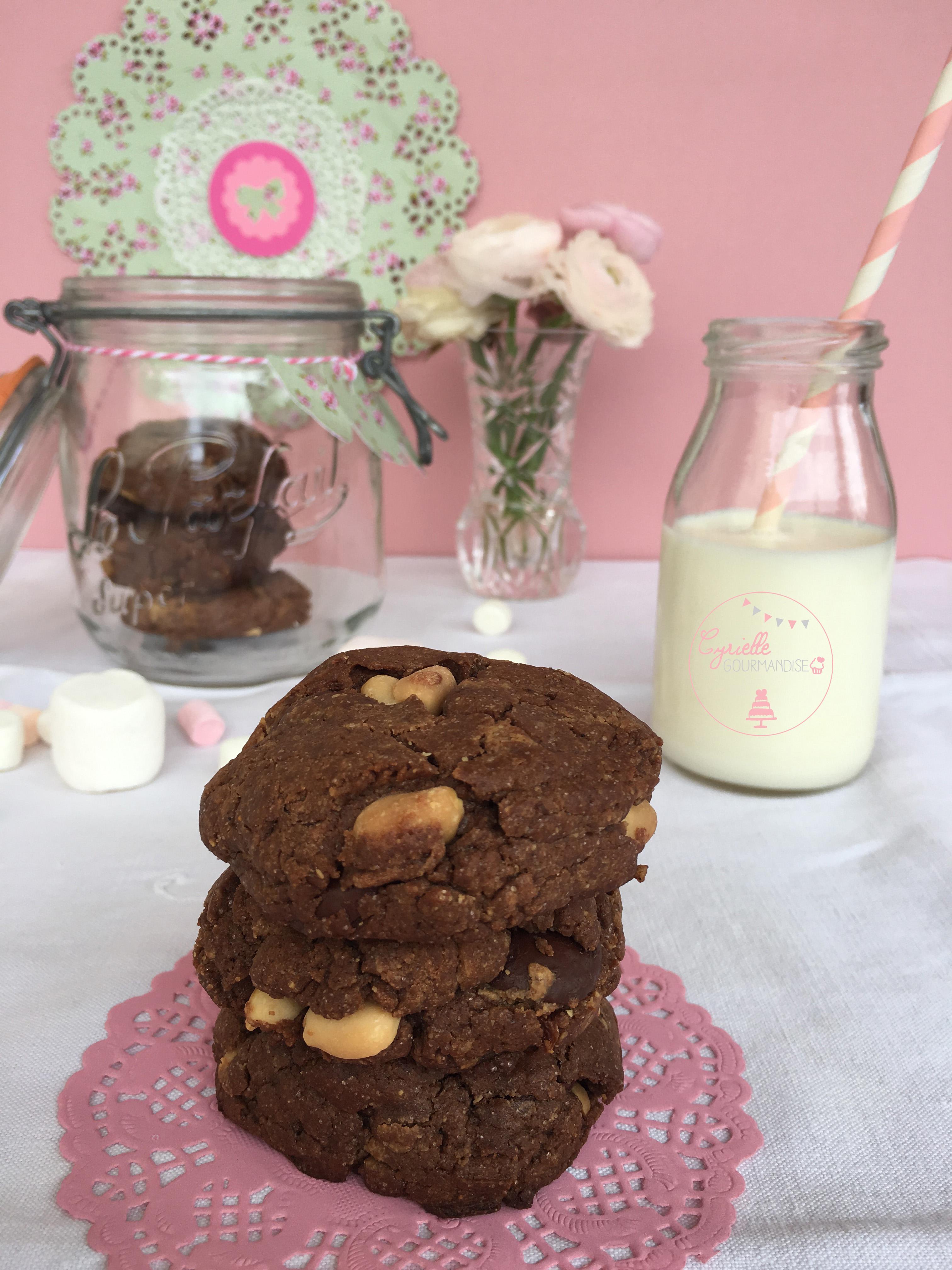Cookies Chocolat Beurre de Cacahuète 2
