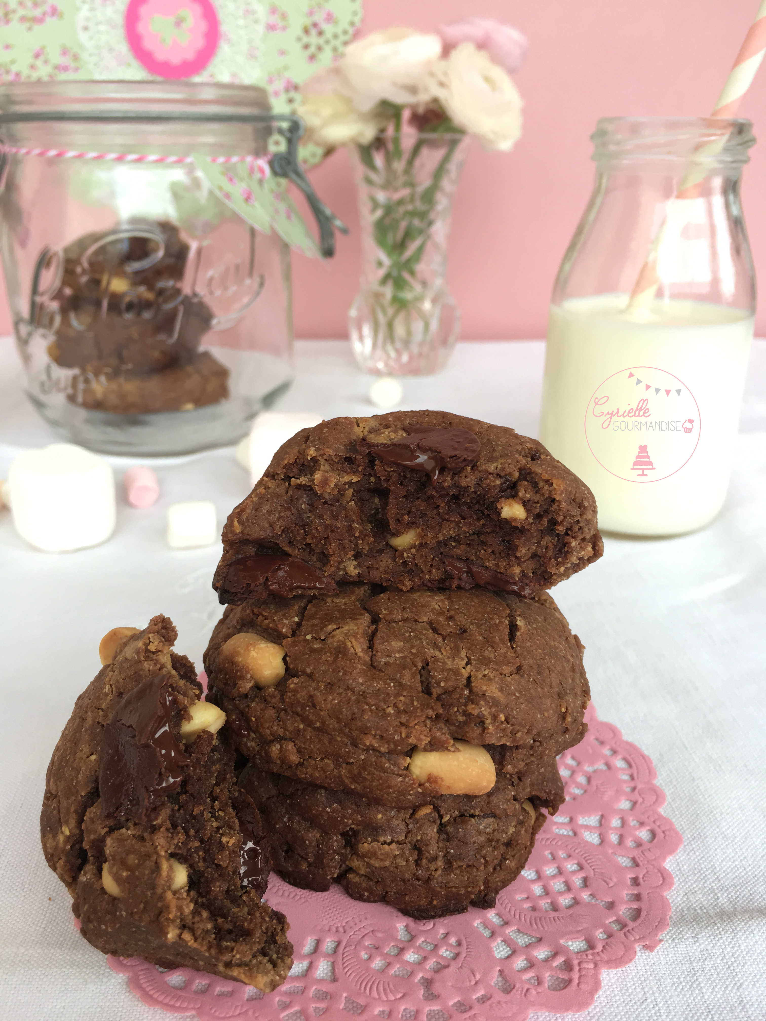 Cookies Chocolat Beurre de Cacahuète 5