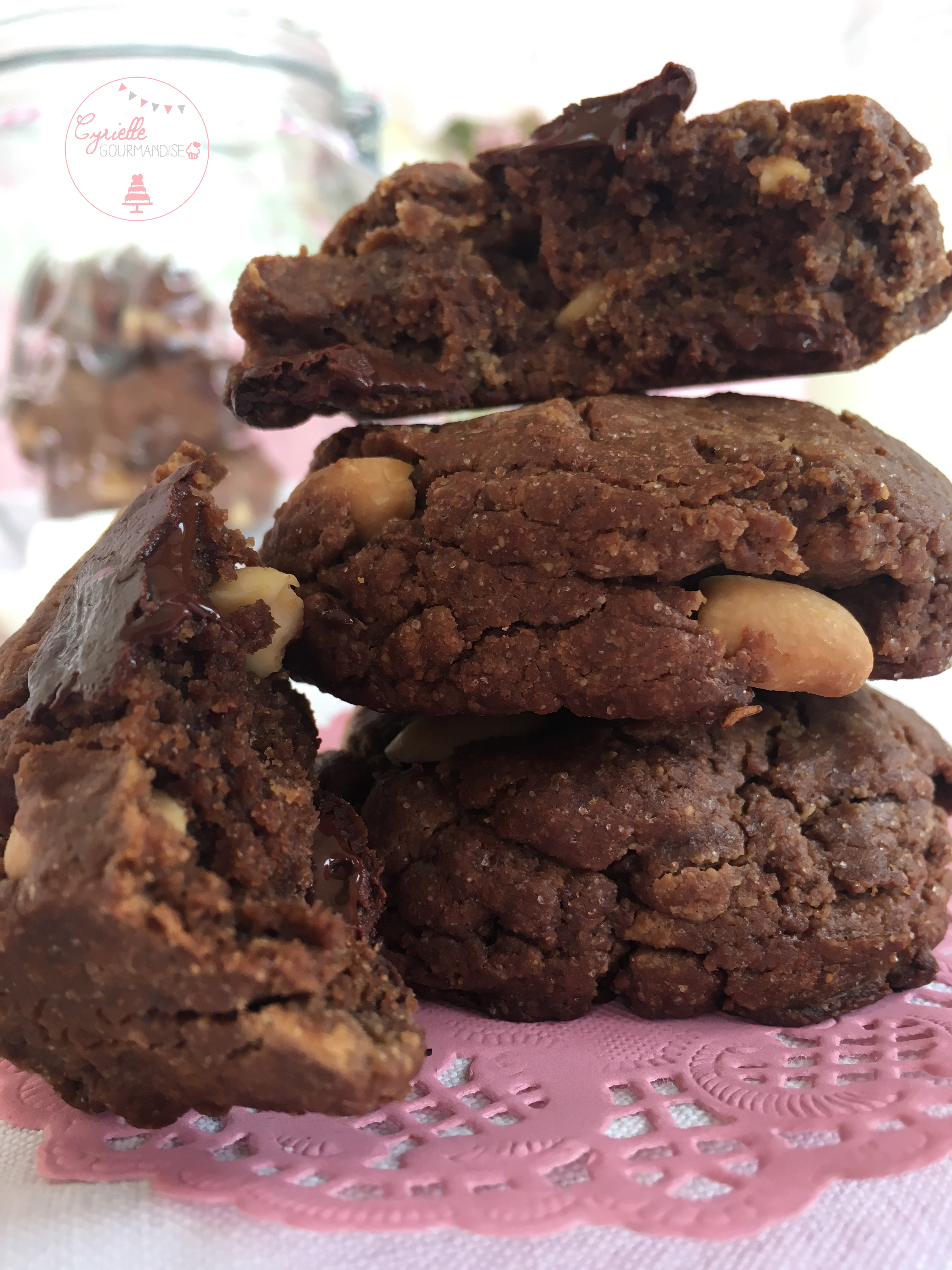 Cookies Chocolat Beurre de Cacahuète 6