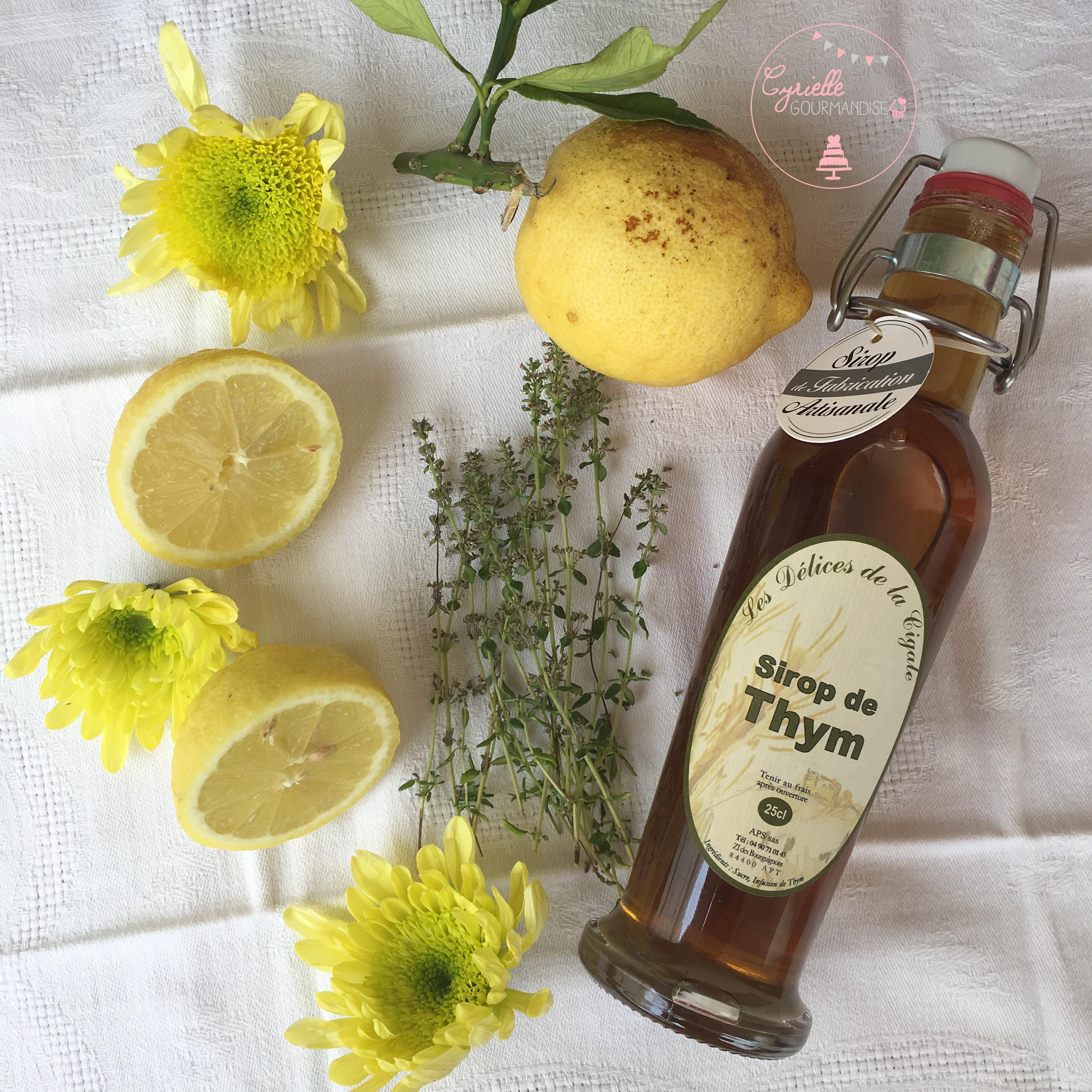 Citronnade Thym Ingrédients