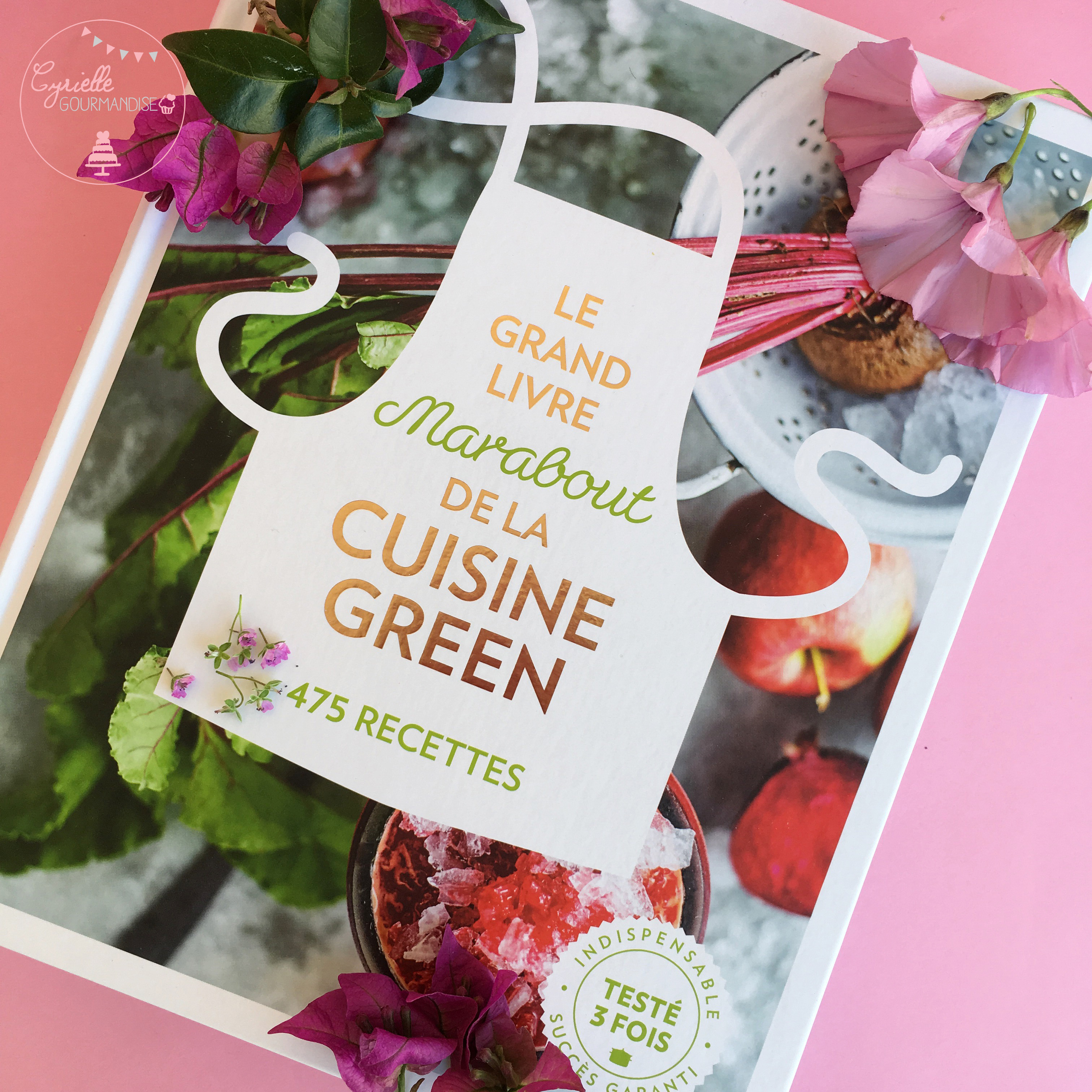 Livre Cuisine Green