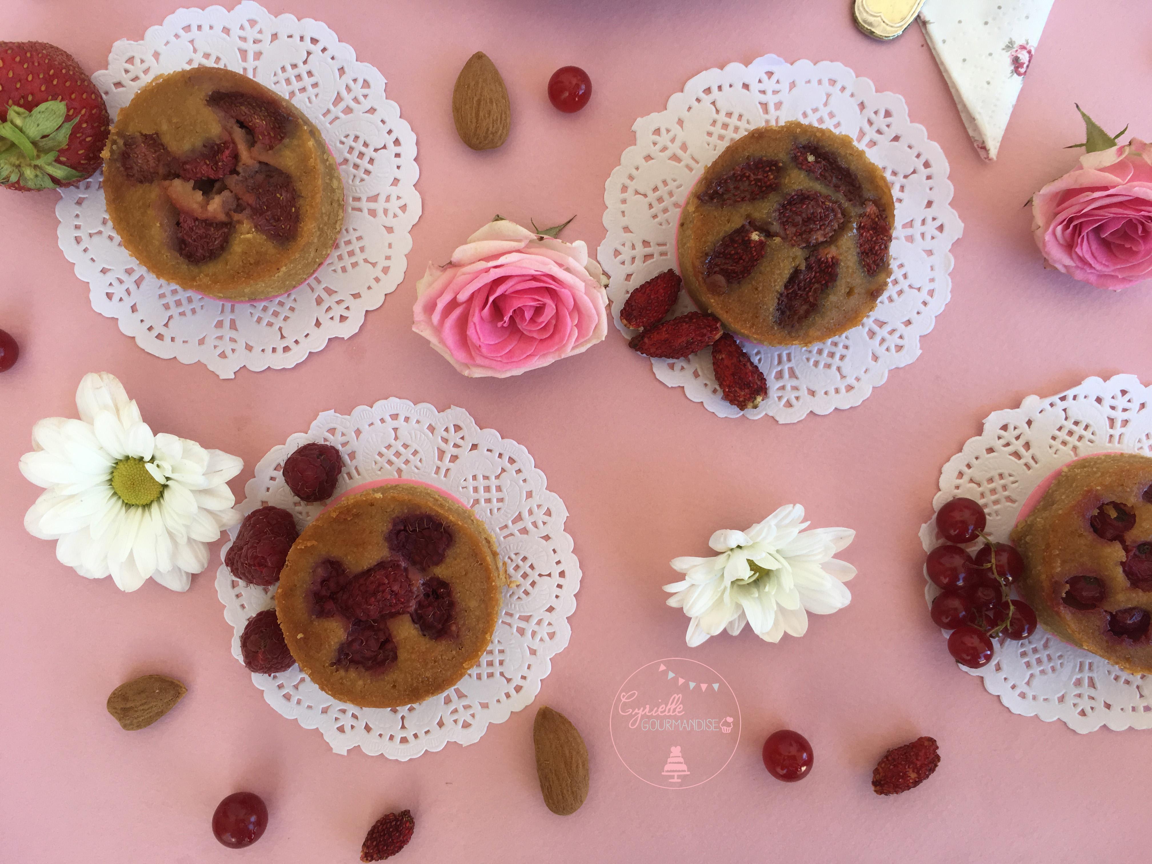 Moelleux Amandes Fruits rouges 4