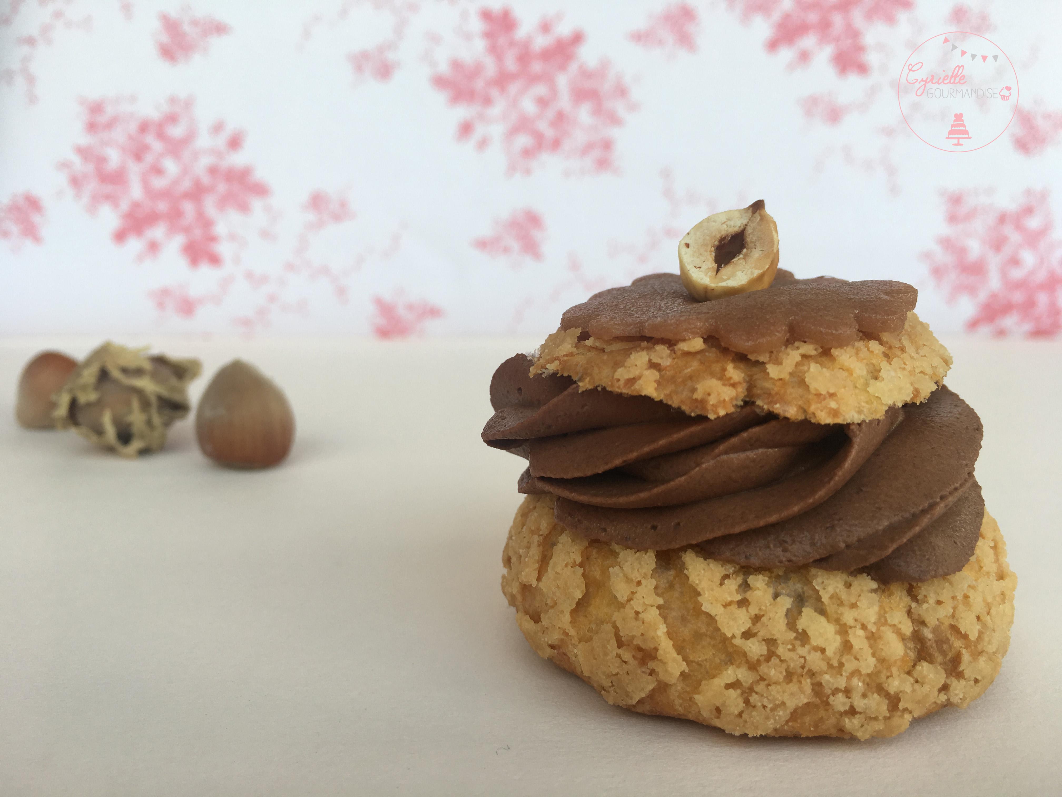 Choux Chocolat Caramel 2