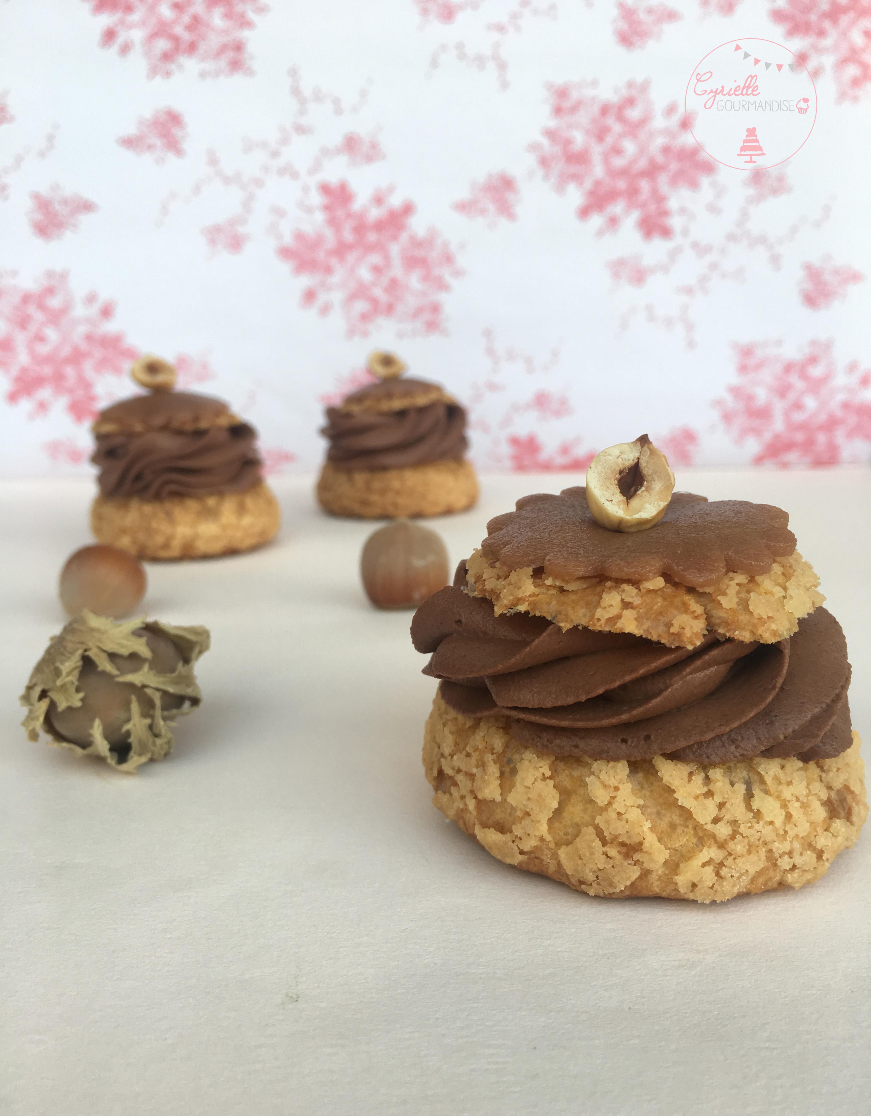 Choux Chocolat Caramel 3
