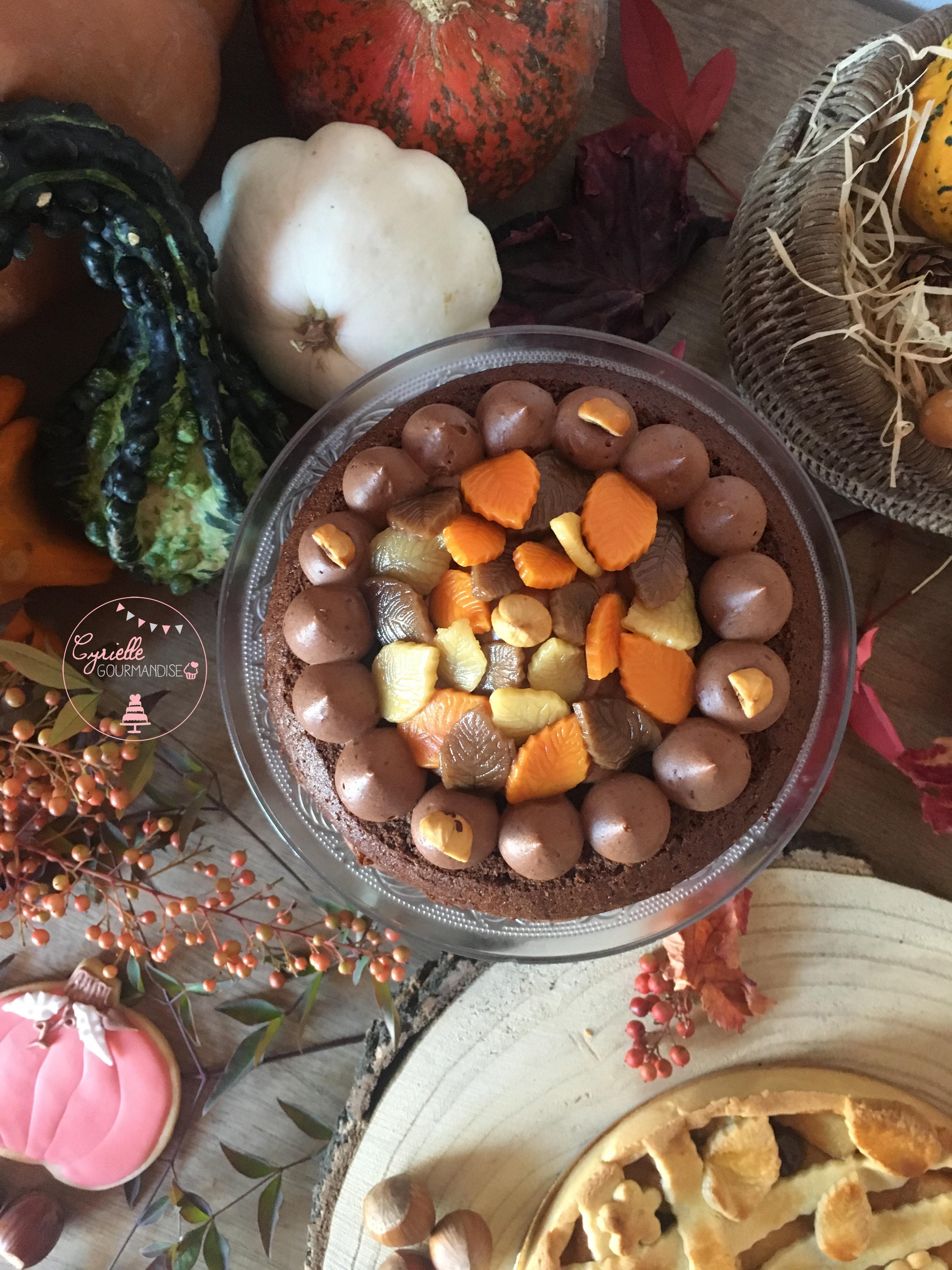 Layer Cake Chocolat Noisette Caramel 5
