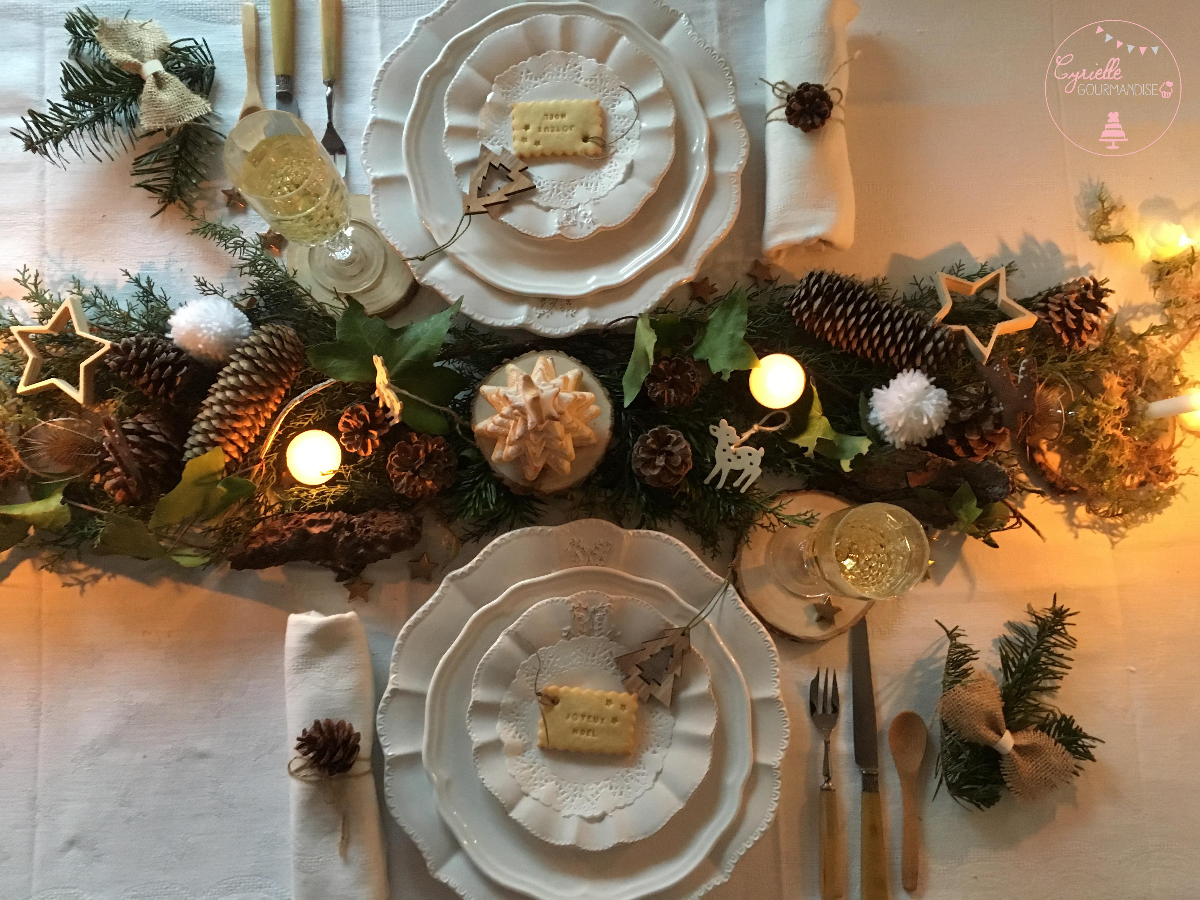 ma table de noel forêt enchantée – cyrielle gourmandise