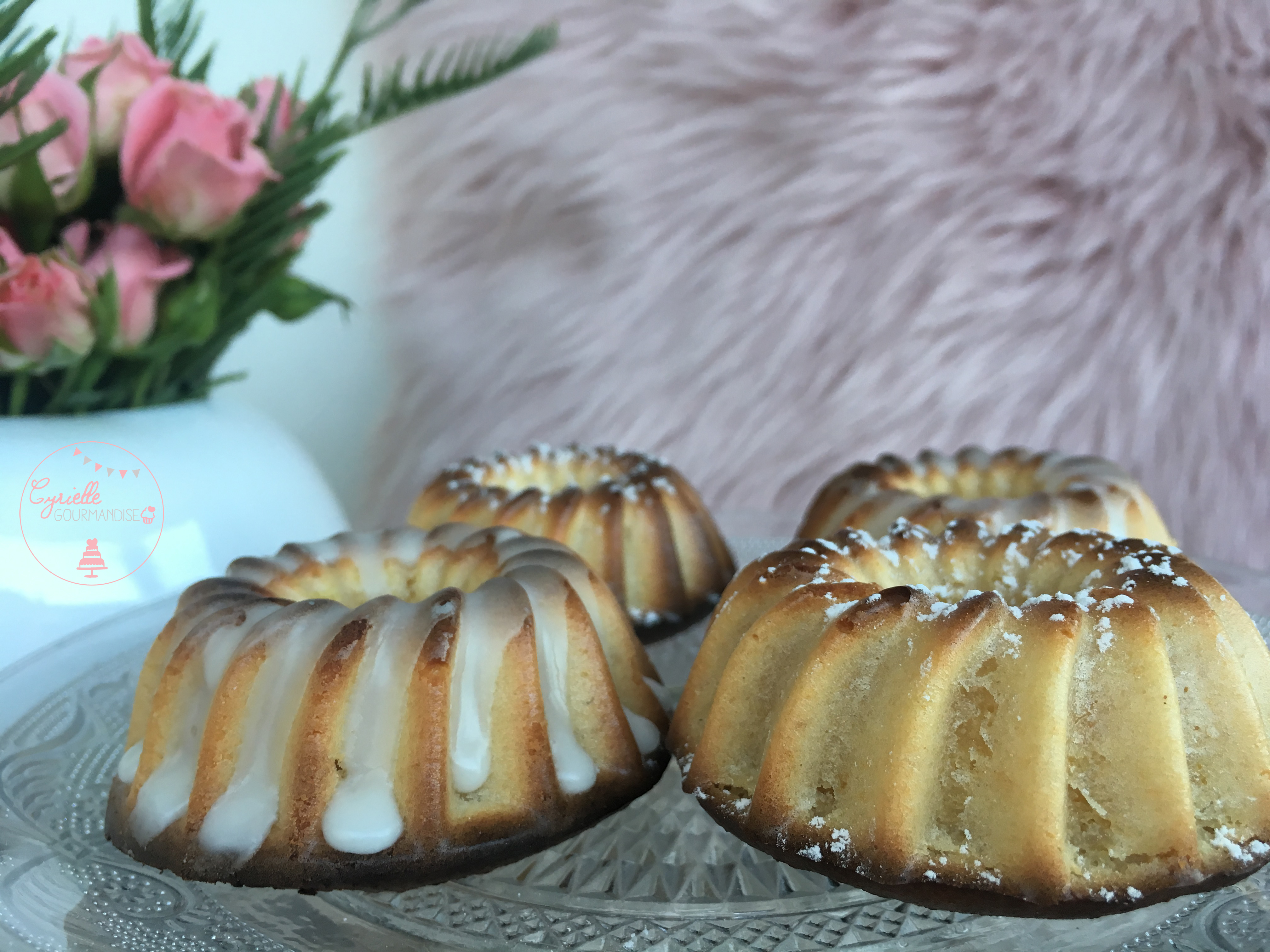 Mini Moule Bundt Cake